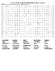 Exodus Book 1 Vocabulary Crossword Puzzle and Word Search with KEYS