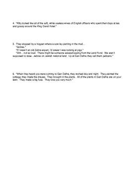 Exodus Book 3 Chapters 1-3 Quotation Identification Quiz