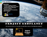 Exoplanet Project - Earth Sun Moon System (Print or Digita