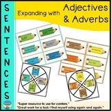 Sentence Building   Expanding Sentences   Describing   Adjectives Adverbs