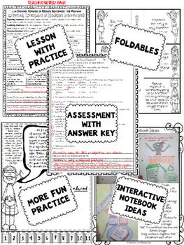 Expand Combine Reduce Sentences L5.3a