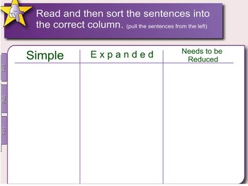 Expand, Combine, and Reduce Sentences