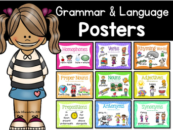 Grammar and Language Posters