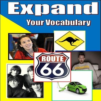 FULL YEAR - 12 UNIT BUNDLE!! - EXPAND YOUR VOCABULARY - Middle and High School