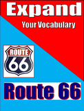Middle and High School Vocabulary - EXPAND- Unit 1: Route 66