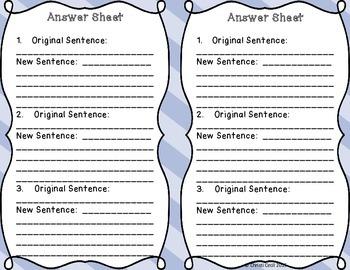 Expand a Sentence