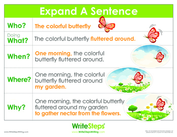 Expand a Sentence Poster