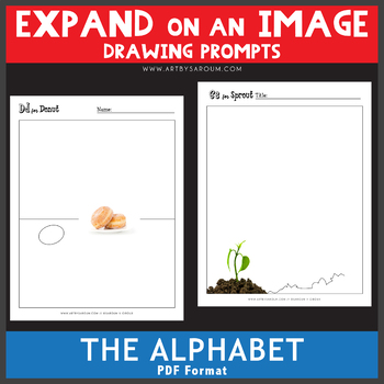 Expand on an Image - The Alphabet