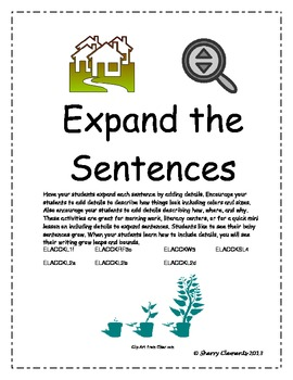 Expand the Sentences!
