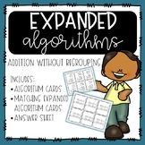 Expanded Algorithms for Addition