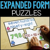 Expanded Form Center | Expanded Form Activities