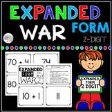 Expanded Form 2 Digit War Math Game