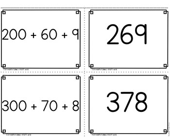 3 Digit Expanded Form