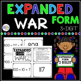 Expanded Form 3 Digit War Math Game