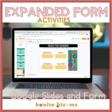 Expanded Form Activities for Google Classroom