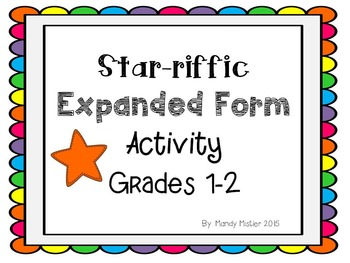 Expanded Form Activity