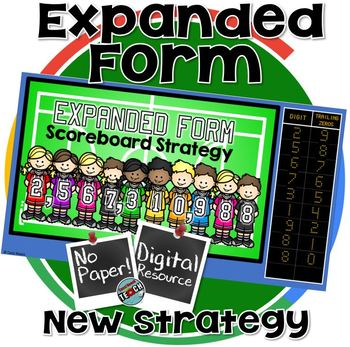Expanded Form Activity - Digital Resource