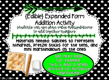 Expanded Form Addition with two 3-digit numbers {without regrouping}