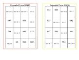 Expanded Form Bingo