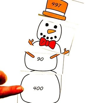 Expanded Form Build A Snowman