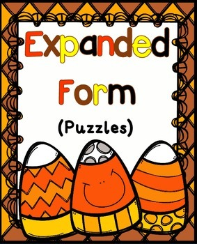 Expanded Form Activities