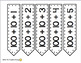 Expanded Form Cards Black on White for Wall Number Line