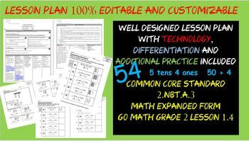 expanded form lesson 1.4  Expanded Form Craft Worksheets & Teaching Resources | TpT