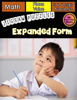 Expanded Form Math Centers
