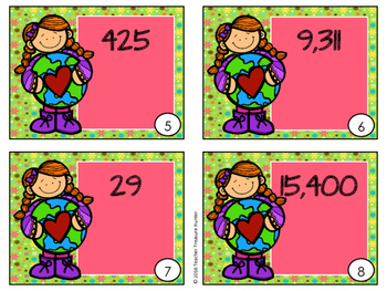 Expanded Form MATH SCOOT Game