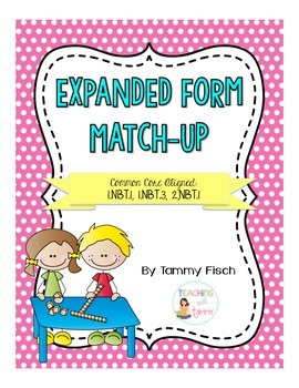 Place Value - Expanded Form Practice