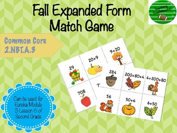 Expanded Form Match Game