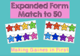 Expanded Form Match to 50