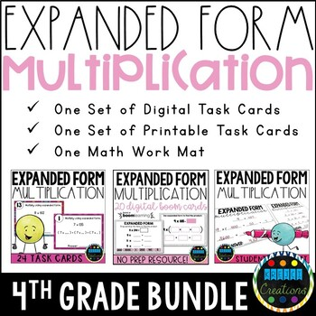 Expanded Form Multiplication BUNDLE