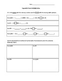 Expanded Form Multiplication Practice