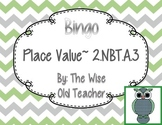 Expanded Form & Number Words Bingo Game PPT with Blank Bingo Card 2.NBT.A.3