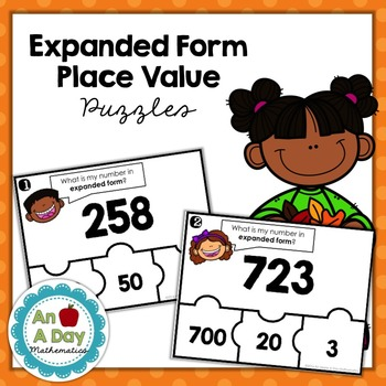 Expanded Form Place Value Puzzles