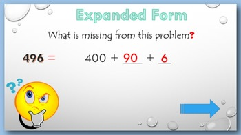 Expanded Form PowerPoint:  read and write to 1000
