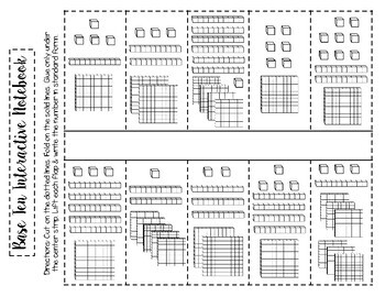 Expanded Form Printables