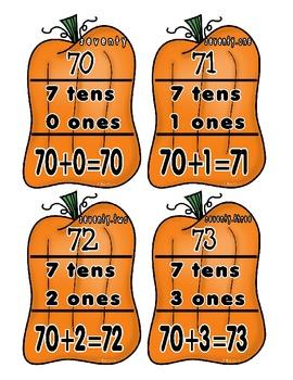 Expanded Form Pumpkins