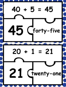 Expanded Form Puzzle