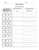 Expanded Form Roll A Dice Game