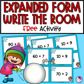 Expanded Form Scoot Numbers to 120