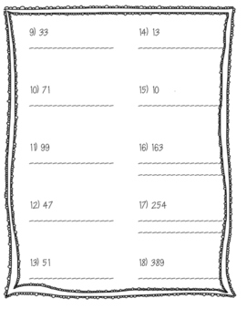 Expanded Form Standard Form
