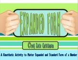 Expanded Form, Standard Form, and Word Form