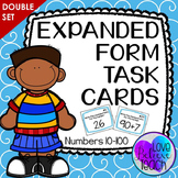 Expanded Form Task Cards - DOUBLE SET