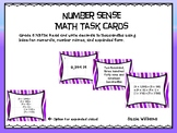 Expanded Form Task Cards for 5th Grade