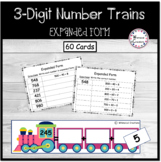 Expanded Form Three Digit Number Trains