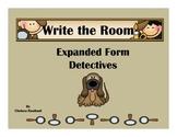 Expanded Form Through Hundreds Write the Room Detectives