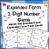 Expanded Form Using 2-Digit Numbers