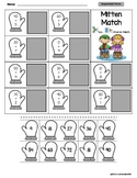 Expanded Form Worksheet - Mitten Match